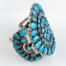 Load image into Gallery viewer, Vintage Zuni Cluster Bracelet