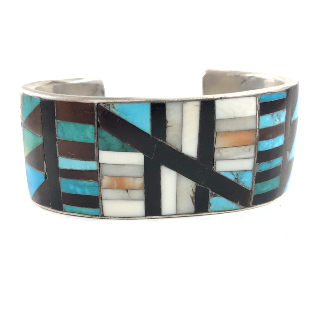 Vintage Zuni/Navajo Collaboration
