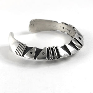 Asymmetrical Sculpted Cuff<br>By Isaiah Ortiz