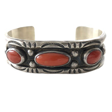 Load image into Gallery viewer, Vintage Navajo Three Stone