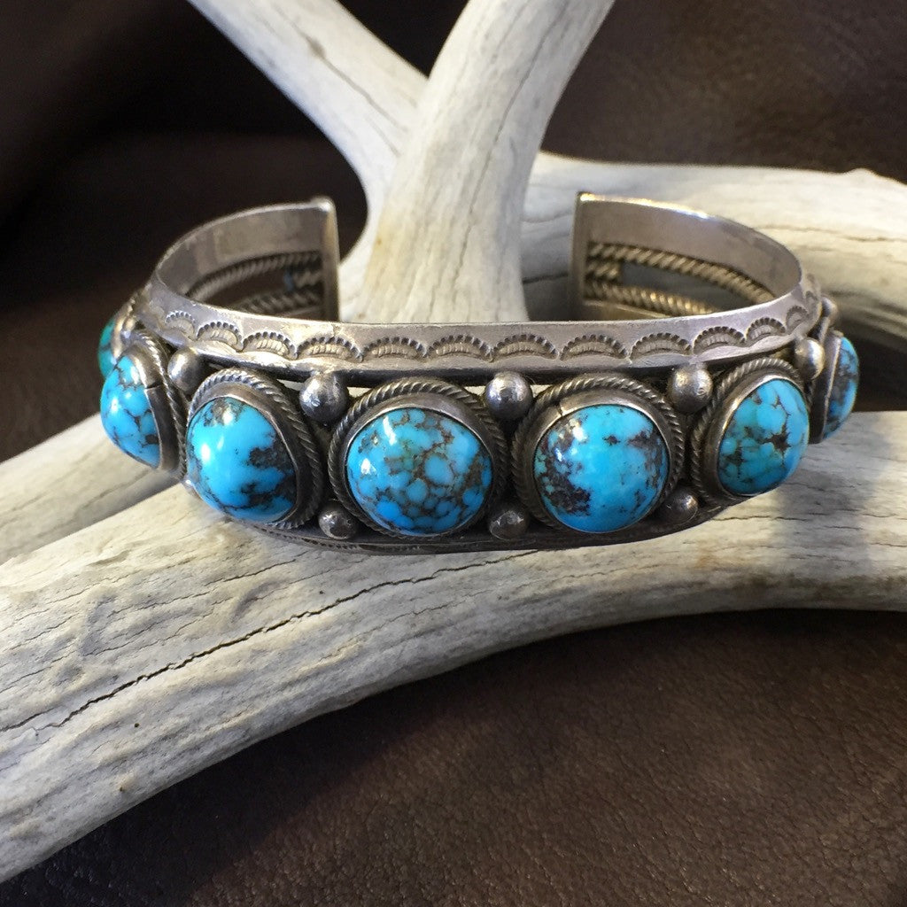 Old Deep Cut Persian Turquoise