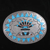 Zuni Kachina Buckle