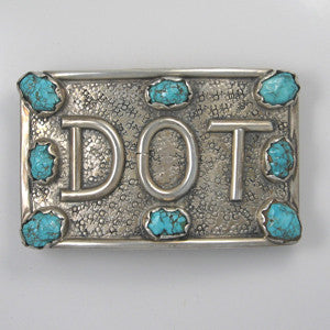 Large 8 Stone Buckle DOT