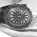 Large Vintage Concho Buckle
