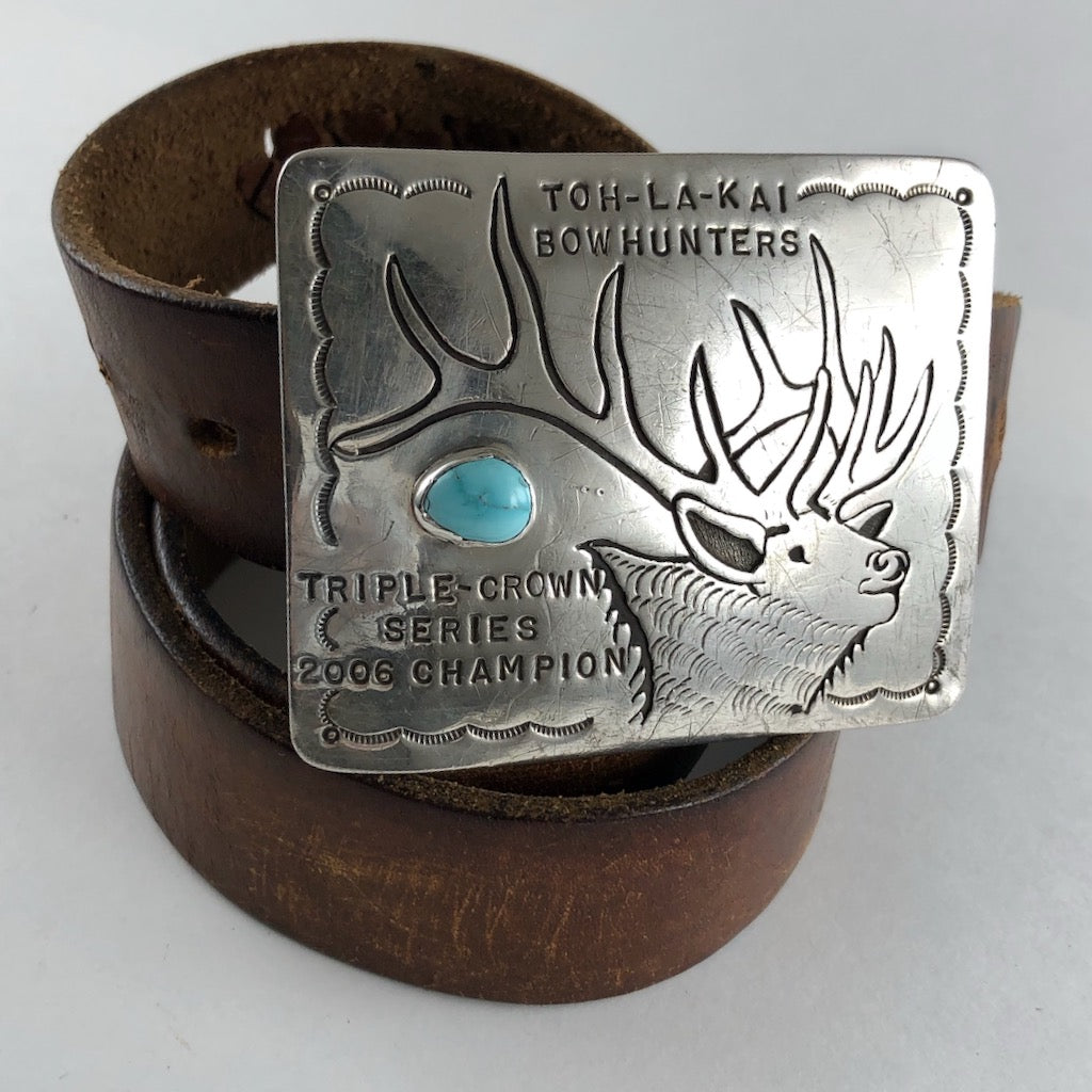 Bowhunters Buckle<br>By Aaron Toadlena