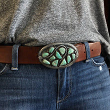 Load image into Gallery viewer, Vintage Zuni Snake Buckle
