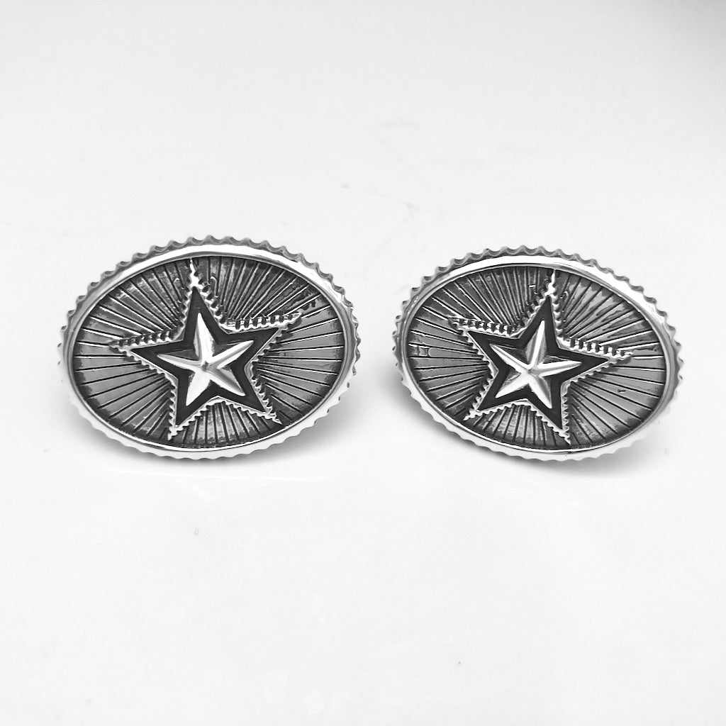 Radiated Cufflinks<br>By Cody Sanderson
