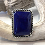 Square Cut Lapis<br>By Albert Lee<br>Size: 7.5