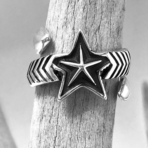 Double Large Arrow/Medium Star<br>By Cody Sanderson<br>Size: 7