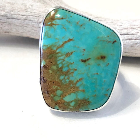Royston Turquoise<br>By Everett & Mary Teller<br>Size: 10