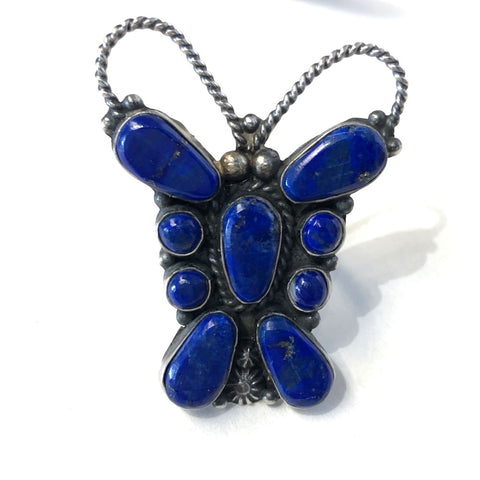 Lapis Butterfly<br>By Tyler Brown<br>Size: 7.5
