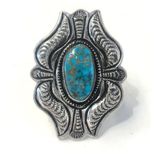 Load image into Gallery viewer, Red Mountain Turquoise<br>By Calvin Martinez<br>Size: 7