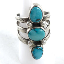 Load image into Gallery viewer, Cheyenne Turquoise<br>Size: 9<br>By Jesse Robbins