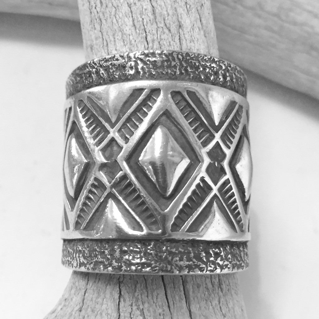 Stamped Band By Jennifer Curtis     Size: 6 1/2