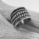 Six Band Ring By Melvin Francis   Size: 8
