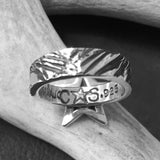 Small Star Ring<br>By Cody Sanderson<br>Size: 8.5