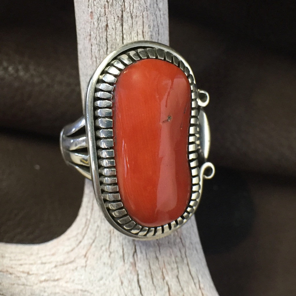 Natural Coral By Jennifer Curtis  Size: 7