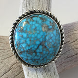 Kingman Turquoise By Albert Lee  Size: 7.5