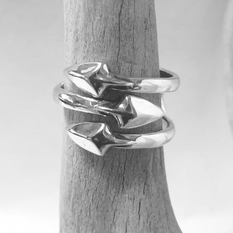 Three Arrows Ring By Cody Sanderson  Size: 6.5