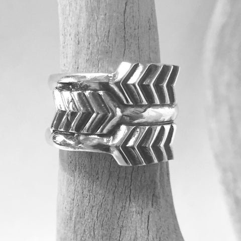 Three Arrows Ring By Cody Sanderson  Size: 5