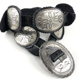 Light & Easy Vintage Concho Belt