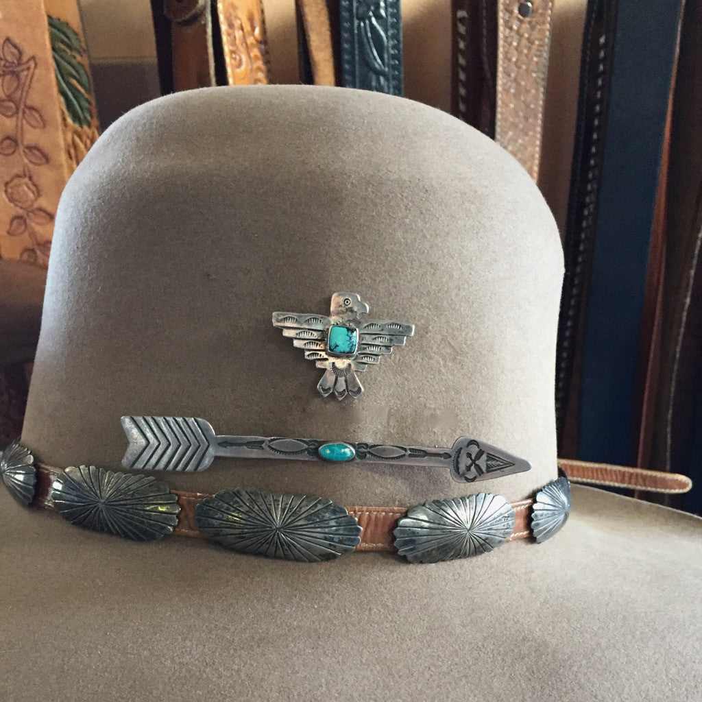 Small Vintage Concho Belt By Orville Tsinnie