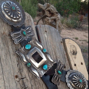 Relax! Vintage Concho Belt
