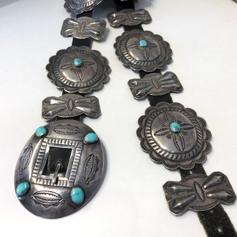 Fred Harvey Era Concho Belt