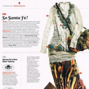 Conde Nast Traveler<br>So Santa Fe!