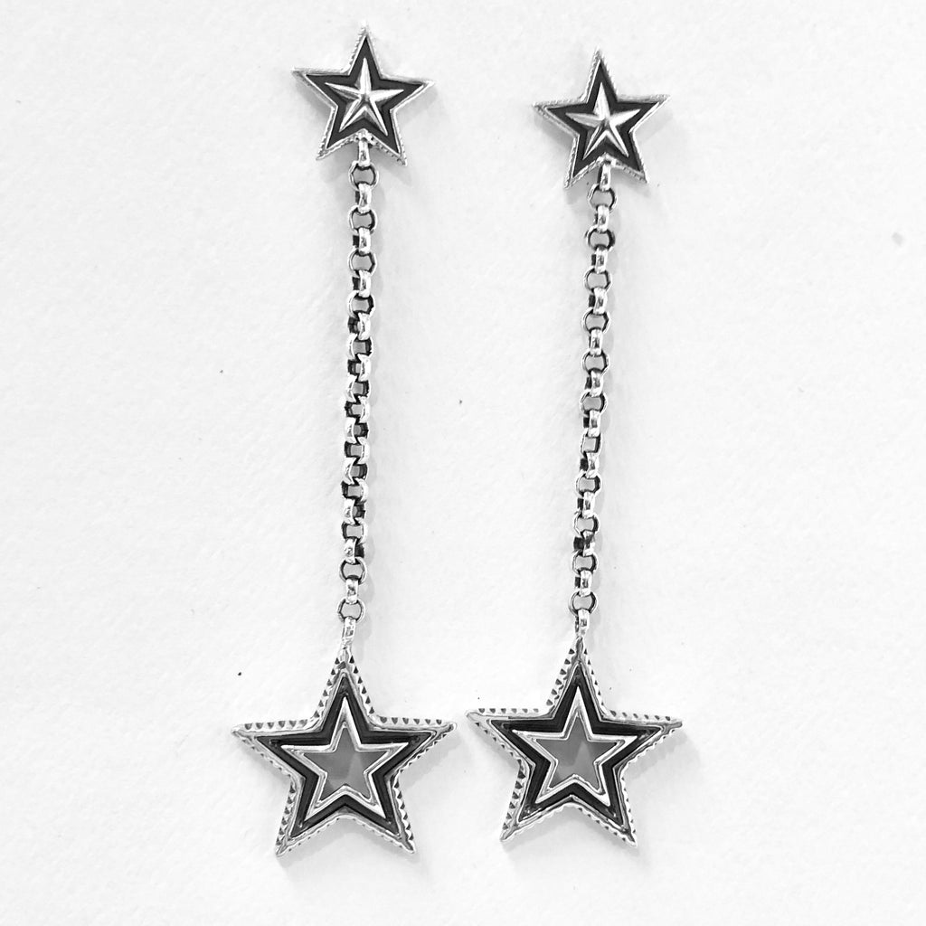 Cut Out Star Dangles<br>By Cody Sanderson