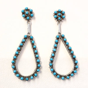 Petit Point Drops<br>By Virginia Hooee