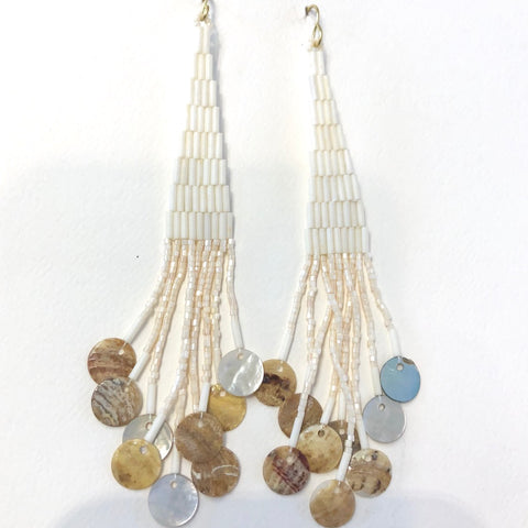 Long Beaded Earrings<br>By Molina Parker
