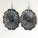 Large & Light Concho Earrings