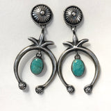 Naja Earrings<br>By B. Begay