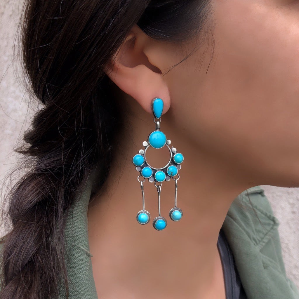 Big Sky Earrings<br>By Mila Johnson