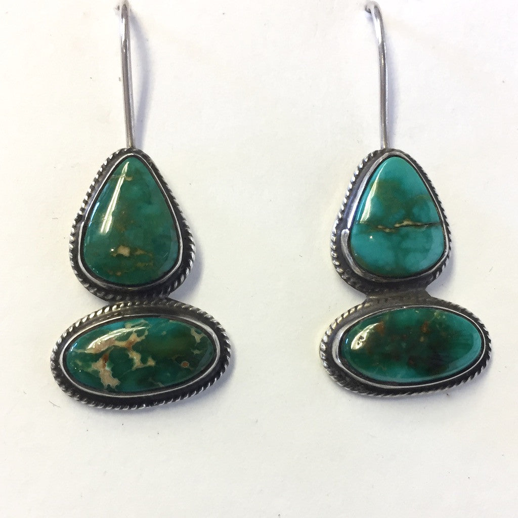 Natural Blue Gem Drops By Geraldine Yazzie