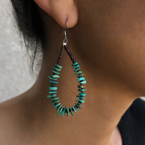 Turquoise & Shell<br>By Jeanette Calabaza
