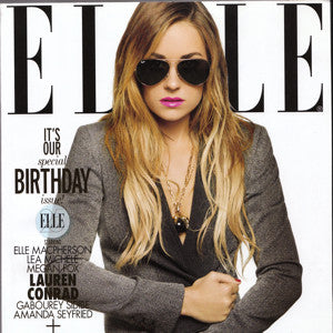 ELLE Magazine October 2010 Birthday Issue!