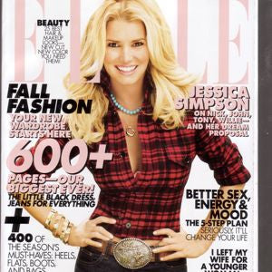 ELLE Magazine September  2008