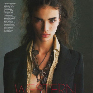 April 2006 ELLE Western Accents