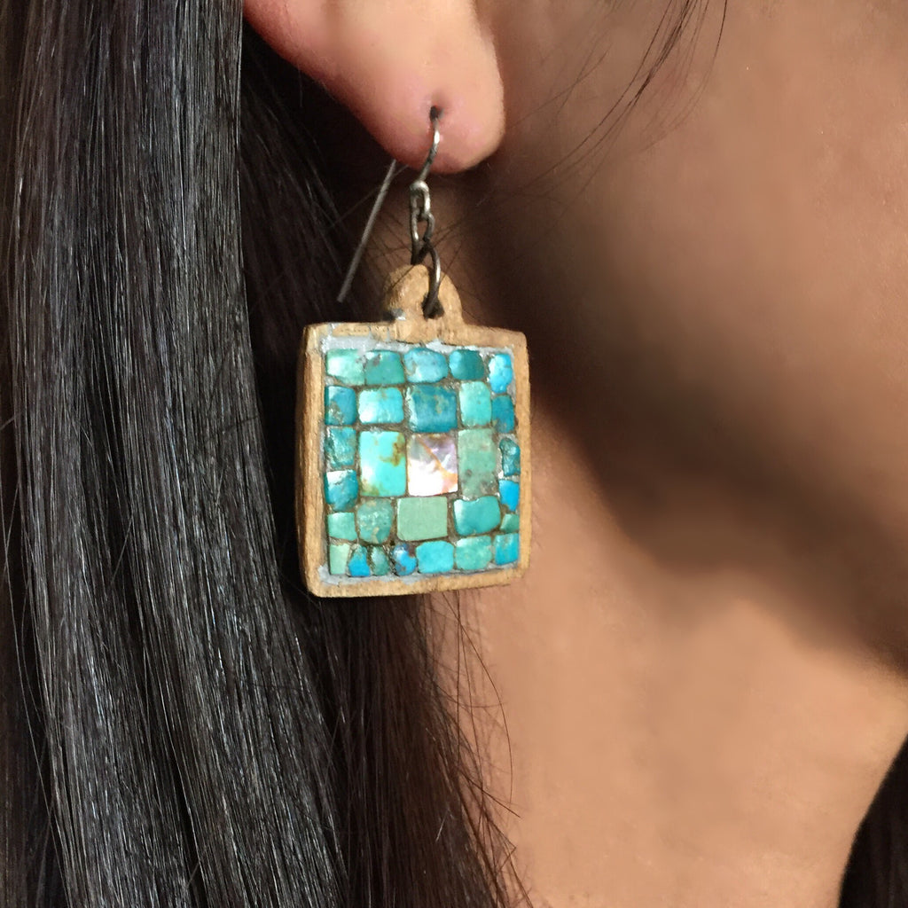 Vintage Pueblo Earrings