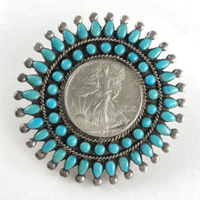 Load image into Gallery viewer, Vintage Zuni Pin/Pendant