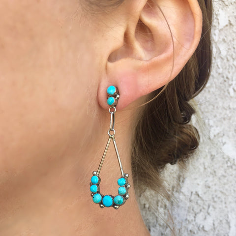 Zuni Earrings<br>By Erma Esalio