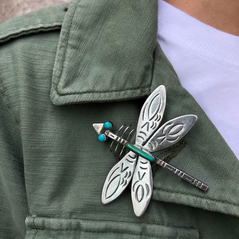 Vintage Dragonfly Pin