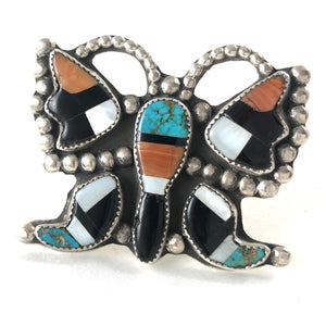 Vintage Butterfly Ring<br>Size: 8