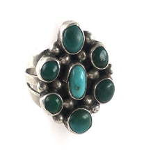 Load image into Gallery viewer, Vintage Cluster Ring<br>Size: 8