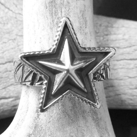 Small Star Ring<br>By Cody Sanderson<br>Size: 6