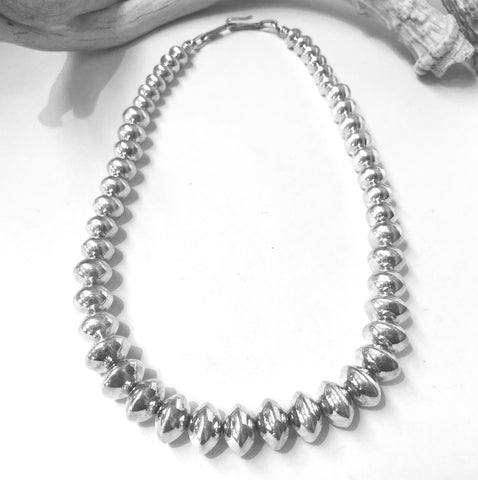 Navajo Pearls<br>By Clendon Pete