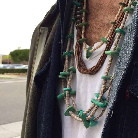 Personal Style--3 Necklaces!