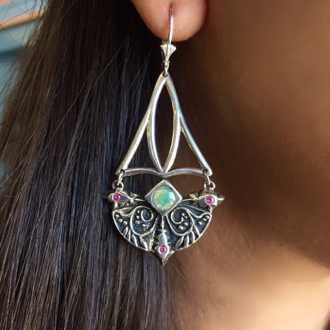 YAUPON EARRINGS<br>By Kristen Dorsey